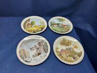 The Italian Four Seasons LA QUATTRO STAGIONI Set/4 Collector's Plates 4 Designs
