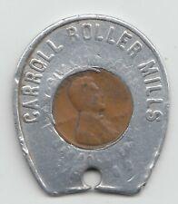 New ListingCarroll Roller Mills 1947 encased cent coin penny Carroll Iowa 35