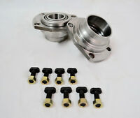 """9"""" Inch Big Ford Old-Style 1/2 Housing Bearing Ends With Bearings Installed PAIR"""