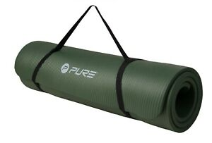 PURE - XL Non-Slip NBR Fitness Mat With Straps - REDUCED - WAS £52.99 NOW £32.99