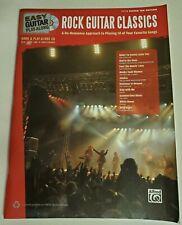 ROCK CLASSICS PLAY ALONG GUITAR TAB SONGBOOK TABLATURE CD BACKING TRACKS NEW
