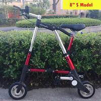 Mini Aluminum Alloy Portable Folding Bike Travel Lightweight Foldable Bicycle