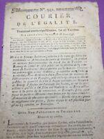 Craon en 1795 Chefs des Chouans Mayenne Loups à Ambert Chouannerie Chapioux