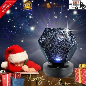 Star Projector Galaxy Lamp Light Starry Sky Night Light led Table Lamp Lite Star