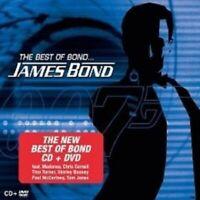 BEST OF BOND...JAMES BOND SOUNDTRACK CD+DVD NEU