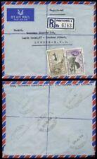 Elizabeth II (1952-Now) Cover Sierra Leonean Stamps (1808-1961)