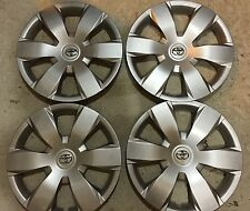 "Set Of 4 61137 Toyota Camry Hubcaps Wheelcover 16 "" Inch 2007 08 09 10 11 12 New"
