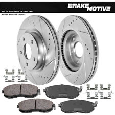 Front Rotors + Ceramic Pads For 2007 2008 2009 2010 2011 2012 2013 Nissan Altima