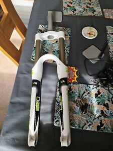 Marzocchi 350cr 27.5 650b 15 x 100 non boost White Enduro Mtb Fork