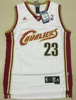 Cleveland Cavaliers LeBron James #23 white jersey all size