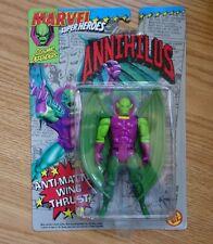 """1992 TOY BIZ MARVEL SUPER HEROES FANTASTIC FOUR'S ANNIHILUS 5"""" ACTION FIGURE MOC"""