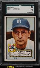 1952 Topps Joe Ostrowski #206 SGC 7 NRMT (PWCC)