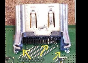 Sony Ps4 HDMI Port Reparatur Ps4/Dinstleistungen