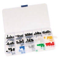 150pcs Mini Seven-Color Hat+Button Micro Momentary Push Button Switch New