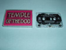 TEMPLE OF THE DOG Same US Advance Promo Cassette Pearl Jam Soundgarden