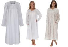 Womens 100% cotton nightdress  Victorian Vintage Style  Henrietta Size S-4X