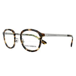 Dolce & Gabbana Glasses Frames DG 1296 3141 Blue Havana 48mm Mens