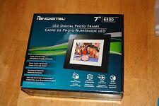 Pandigital 7'' Led Digital Photo Frame stores up to 6400 images