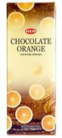 Hem Incense Sticks Chocolate Orange Bulk 120 Stick for Cleansing Spiritual