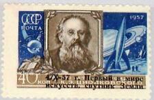 RUSSIA SOWJETUNION 1957 2026 2021 Space Sputnik 1 ovp Tsiolkovsky Weltraum MNH