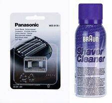 PANASONIC WES 9170Y SCHERMESSER ES-LV61, ES-LV81 + BRAUN REINIGUNGS SPRAY