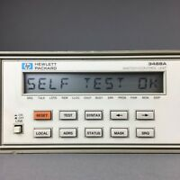 Agilent / HP 3488A Switch/Control Unit with (1) 44477A Form-C Relay Module