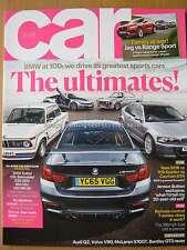 Car July 2016 BMW 3.0 CSL 2002 Turbo M3 CSL M5 V10 F-Pace Macan Range Rover 911R