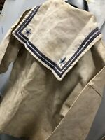 WW2 Regia Marina Truppa Camicia Estiva Con Solino Summer Shirt (1935) No Elmetto