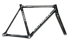 Leader EQNX 56 cm Matte Black Frame Set w/ FSA ZS3 Carbon Head Set - NEW !