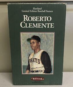 1990 Hartland Roberto Clemente Limited Edition Statue w/ Original Box.