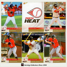 2012 Australia Baseball League Card Team Set Perth Heat (12)