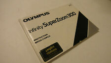 RARE ORIGINAL GENUINE OLYMPUS INFINITY SUPER ZOOM 300 USER INSTRUCTION MANUAL