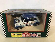 Corgi Mini Mania 1994 RAC Rally Mini British Gas 04424 1:36 Die Cast