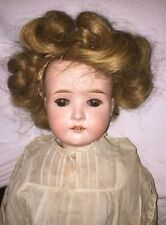 George Borgfedlt Antique Bisque Head Composition Body Doll Pansy III 24""