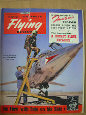 VINTAGE R.A.F. FLYING REVIEW MAGAZINE FEBRUARY 1957 LOCKHEED F-104A STARFIGHTER