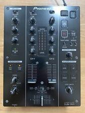 Pioneer DJM 350 DJM-350 2 Channel DJ Mixer With Effects Professional USB record