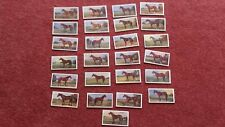 PROMINENT RACEHORSES W&F FAULKNER FULL SET 25  REPRODUCTION CARDS