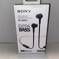 Sony WI-XB400 In Ear Headphones - Black Open box
