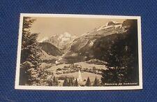 Switzerland - Kandersteg mit Oeschinental - Old Postcard