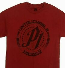 AJ Styles Untouchable Hard To Follow P1 WWE Red T-Shirt Phenominal 1 Size Large