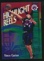 1999-00 Vince Carter Topps Chrome Highlight Reels HR2 Toronto Raptors Insert HOF