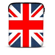 "Union Jack Tablet PC Sleeve Bag Case For 10.1"" Samsung Galaxy Tab Apple iPad 4 3"