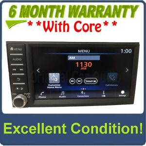 2018 - 2020 Nissan NV200 Sentra Versa OEM Touch Screen AM FM Bluetooth Multi Med