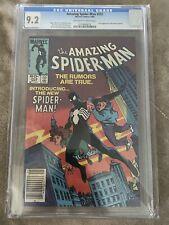 AMAZING SPIDER-MAN #252 CGC 9.2 NM- (1984) 1st BLACK COSTUME; NEWSSTAND!!! 🔥🔥