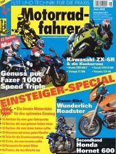 MF0206 + Test Wunderlich- BMW R 1150 R + KTM 950 Rally + Motorradfahrer 6/2002