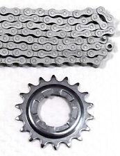 Set Shimano Steck-ruota di ingranaggio 18 Denti/Catena nx10 anti ruggine per circuito MOZZO