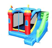 Bounceland Inflatable Bounce House Royal Palace Bouncer with Slide