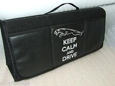 Keep Calm and Drive JAGUAR  Car Boot Tidy Organiser