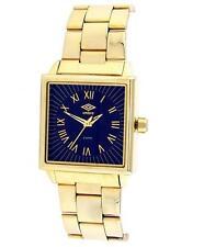 Umbro montre homme GOLD-TONE CASE & Bracelet Cadran Noir U589G