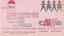 Buvard Vintage  Cafés Caïffa